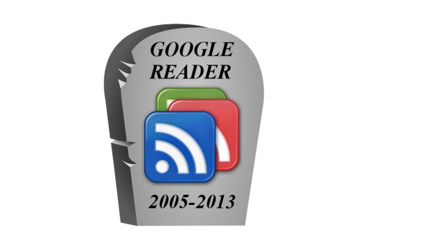 Goodbye Google Reader